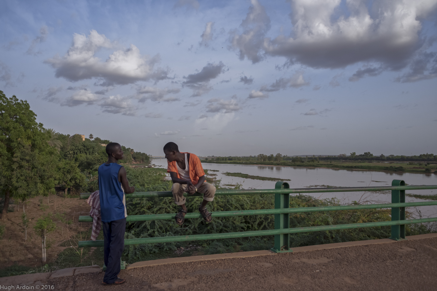 Talk the Talk Niamey Bridge Niger
